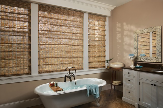 Bathroom Window Curtains a Simple Luxury