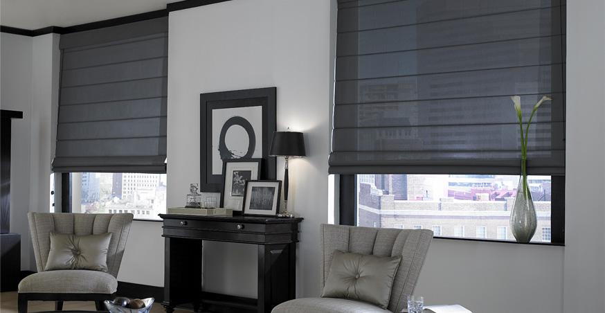dark window shades top down bottom up custom shades for modern and contemporary interior designs window