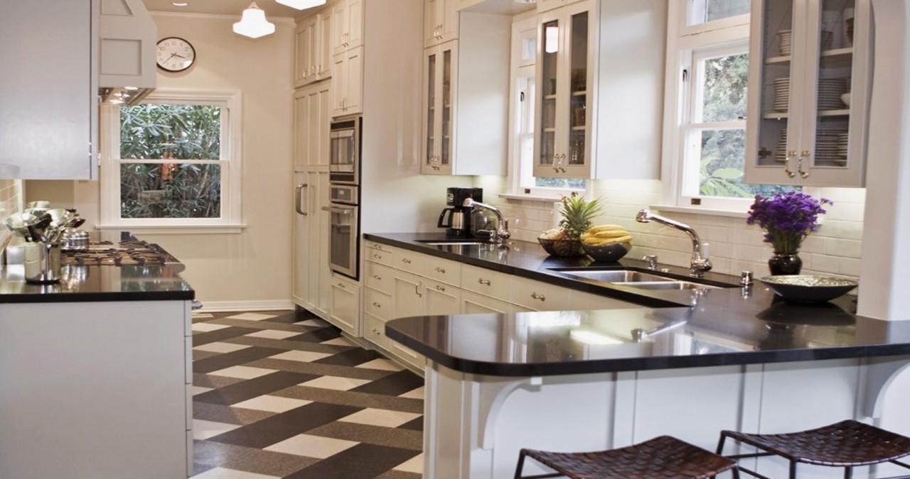 Кухни белого цвета - советы дизайнеров, большая