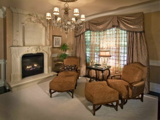 Elegant Choices for Country Window Treatments
