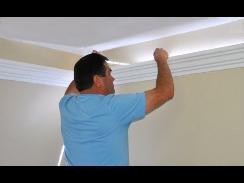 How to Install Foam Crown Molding