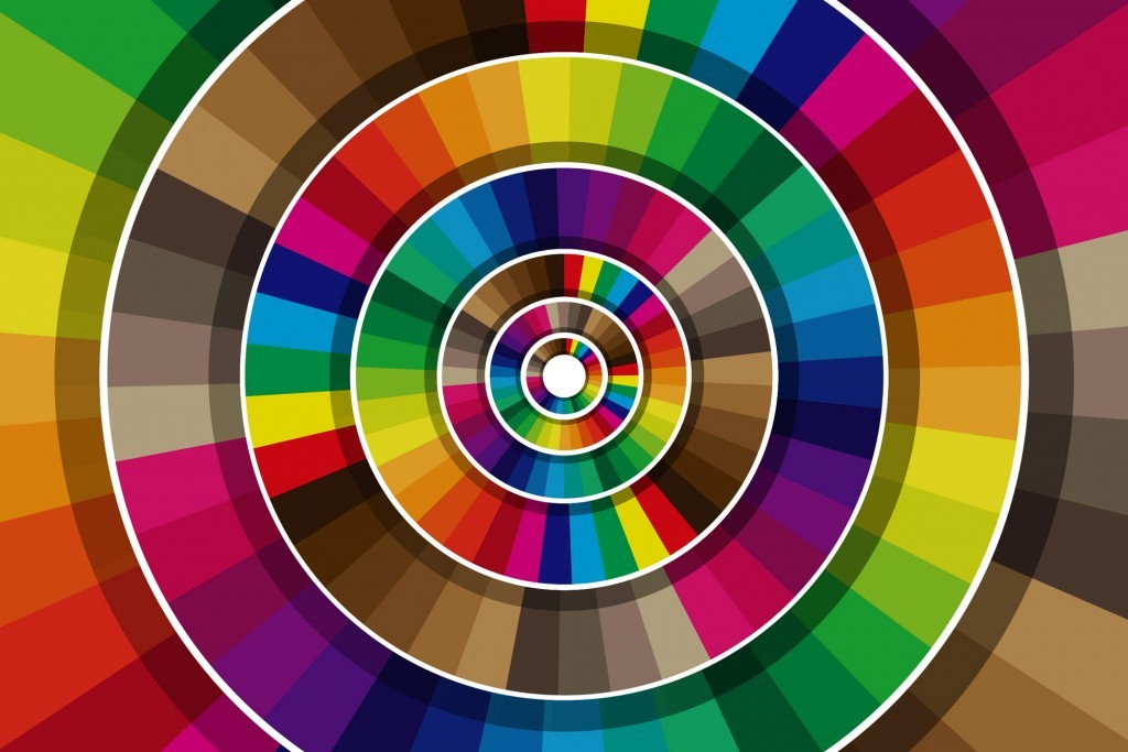 What is a color wheel, and how do I use it?